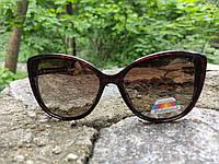 Стильные женские солнцезащитные очки BURBERRY (реплика) с поляризацией