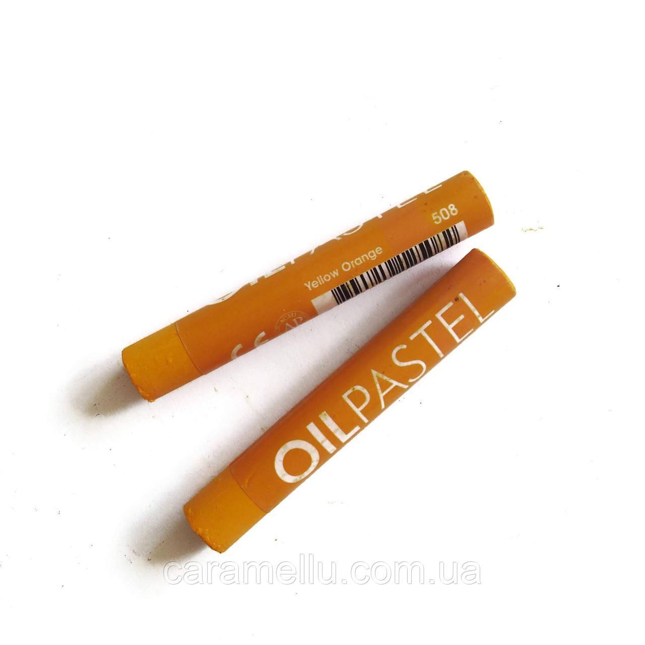 Масляная пастель. №508 Желто-оранжевый. Mongyo
