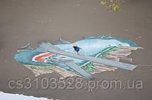 3D рисунок ко дню города Николаева. Вид сверху
