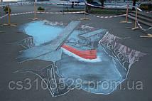 3D рисунок ко дню города Николаева. В процессе