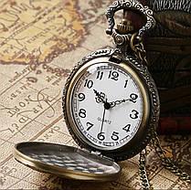 Чоловічі годинники кишенькові на ланцюжку Тато, фото 2
