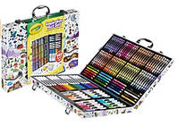 Crayola Inspiration Art Case Крайола Набор Чемодан художника 140 пред. train