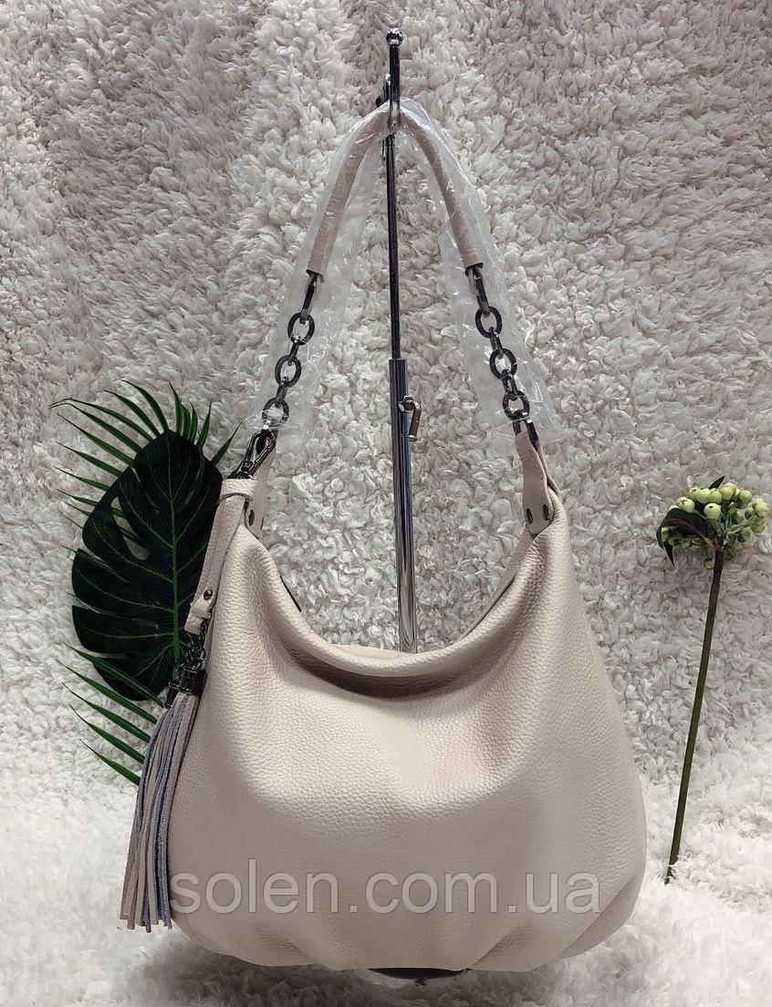 Стильная кожаная сумка . Женская сумка из натуральной кожи. Сумка мешок. Кожаная сумка. Стильная сумка.Сумка.