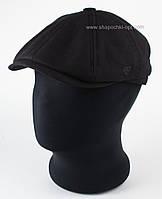 Мужская кепка хулиганка черный лен