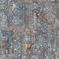 Немецкие виниловые обои на флизелиновой основе Rasch Barbara Home Collection ll Бирюзовый (536546)