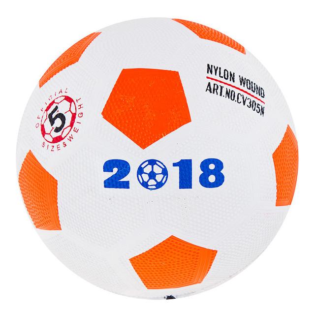 М'яч футбольний гумовий №5 FR5-330/14 330гр