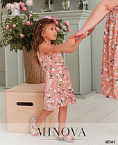Симпатичное платье на девочку, фемели лук, размер от 122 до 164, фото 3