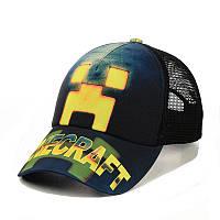 """Детская кепка c сеткой """"Minecraft"""", фото 1"""