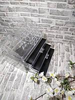 Настольный ящик органайзер для хранения косметики, косметик бокс акриловый