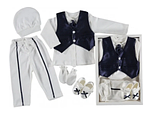 Набор одежды для мальчика на выписку / крестины