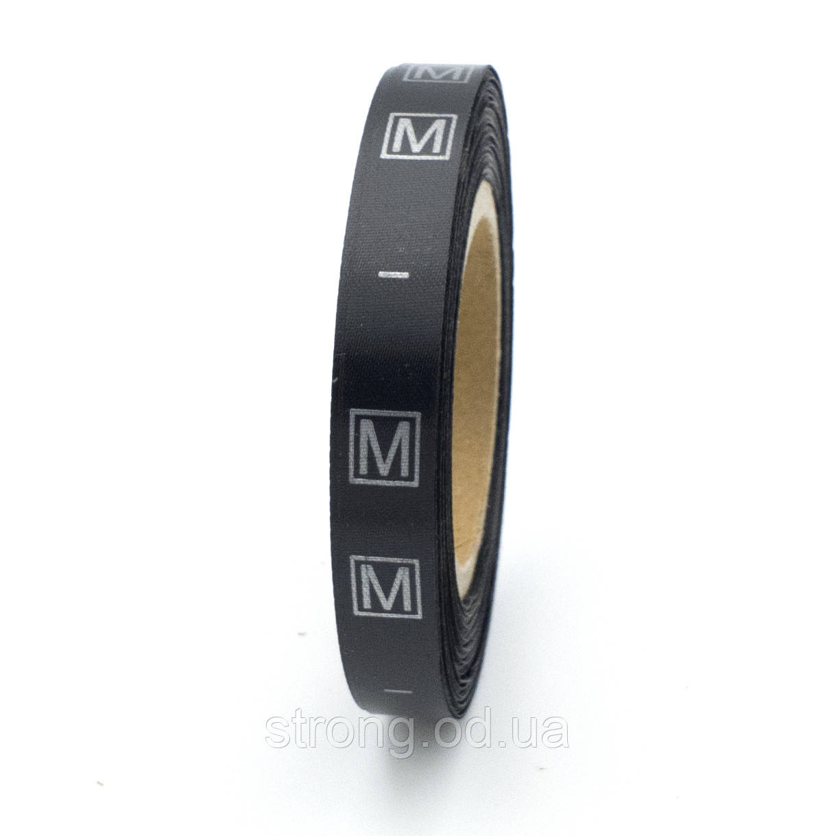 Размерник пришивной M 600шт. чорний