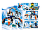 """Детский конструктор JVToy """"АРКТИЧЕСКИЙ ТРАНСПОРТ"""" серия ЧУДЕСНЫЙ ГОРОД понравится всем маленьким любителям увлекательных приключений!, фото 2"""