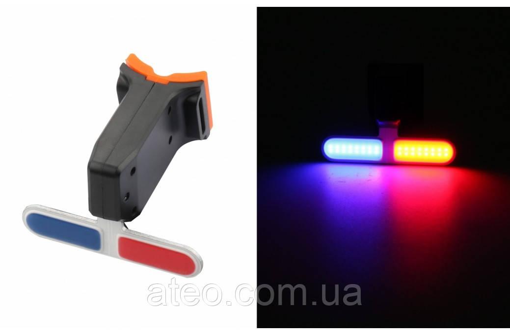 МИГАЛКА ЗАДНЯ (POLICE) BC-TL5454 LED, USB