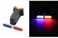 МИГАЛКА ЗАДНЯ (POLICE) BC-TL5454 LED, USB, фото 1