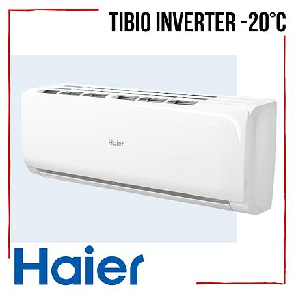 Кондиционер Haier Tibio AS25TADHRA-CL /1U25BEEFRA Inverter -20°С инверторный класс А++ до 25 м2, фото 2