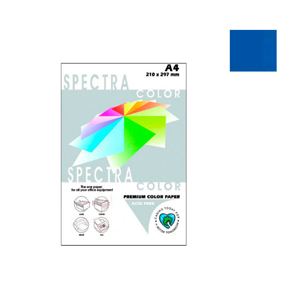 """Папір """"Sinar spectra"""" А4 80г/м2 (100л) 42А-т.-сін. **"""