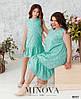 Красивое платье на девочку в горошек, фемели лук, размер от 122 до 164, фото 3