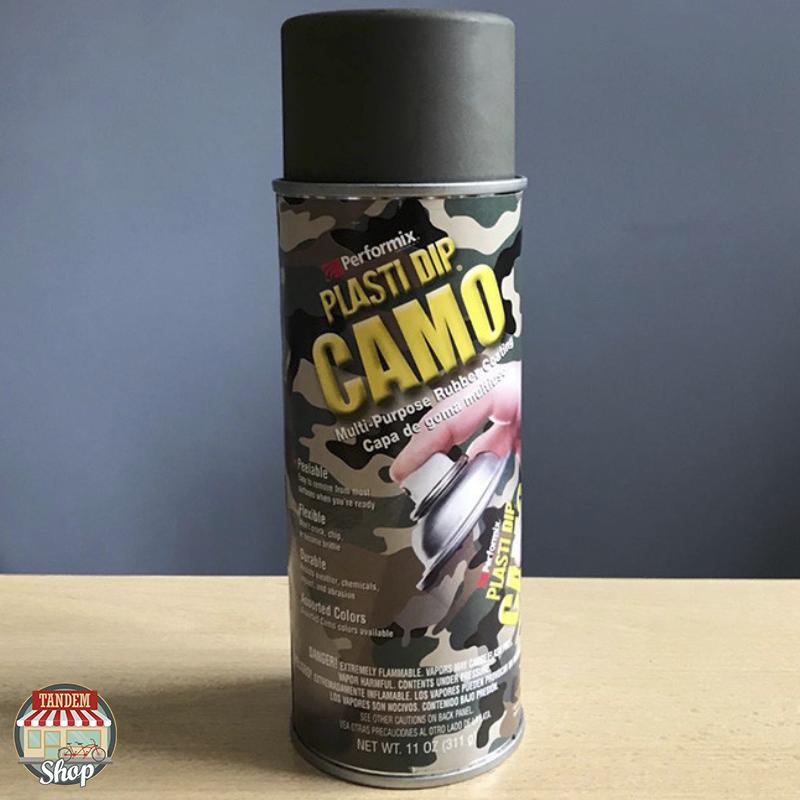 """Жидкая резина """"Камуфляж"""" Plasti Dip™ Camo, 400 мл Аэрозоль Зеленый хаки"""