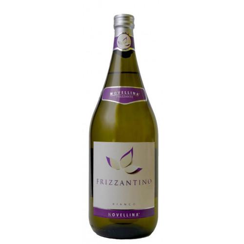 Вино ігристе біле Фрізантіно Novellina Frizzantino Bianco 1.5 L.