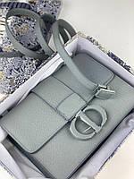 Модна сумочка DIOR CHALK (репліка), фото 1
