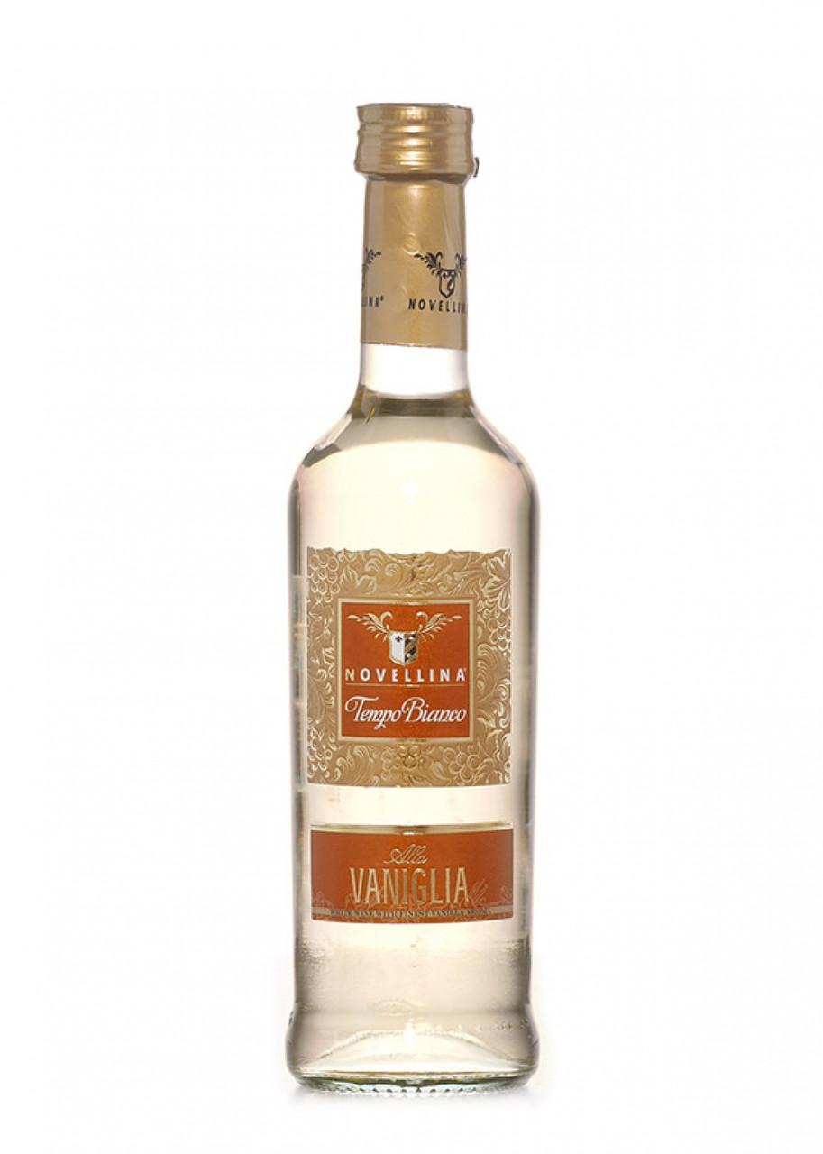 Вино ВАНІЛЬНЕ напівсолодке біле Novellina Tempo Bianco Vaniglia 0,25 L.