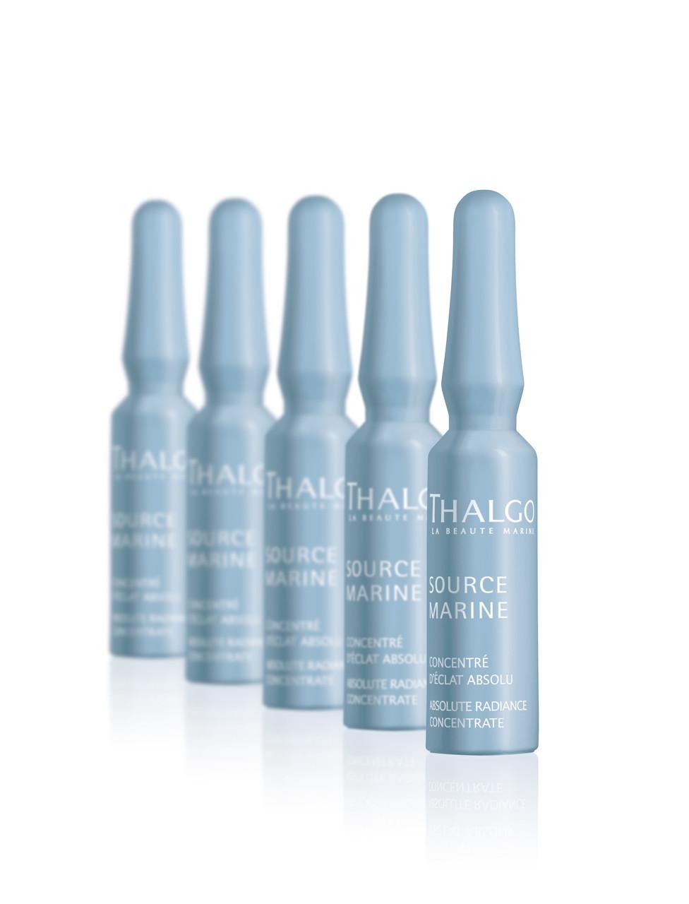 Интенсивный тонизирующий концентрат для сияния кожи с эффектом пилинга Thalgo Absolute radiance concentrate