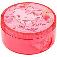 "Точилка "" Kite "" Hello Kitty круглая, с контейнером (24) №HK17-116"