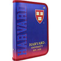 """Папка для тетрадей В5 """"Yes"""" """"Harvard"""" на молнии пластиковая (12) №491365"""