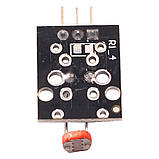 Модуль с фоторезистором KY-018, фото 3
