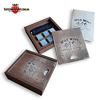 Камни для виски, кубики для виски, мыльный камень, whisky stones, многоразовый лёд Wild West 6