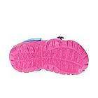 Дитячі крокси сабо з піни, рожеві з блакитним легкі шльопки на пляж, море, дачу, фото 7