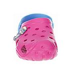 Дитячі крокси сабо з піни, рожеві з блакитним легкі шльопки на пляж, море, дачу, фото 5