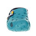 Дитячі крокси сабо з піни, блакитні з темно-синім сабо хлопчикам і дівчаткам на пляж, у двір, фото 6