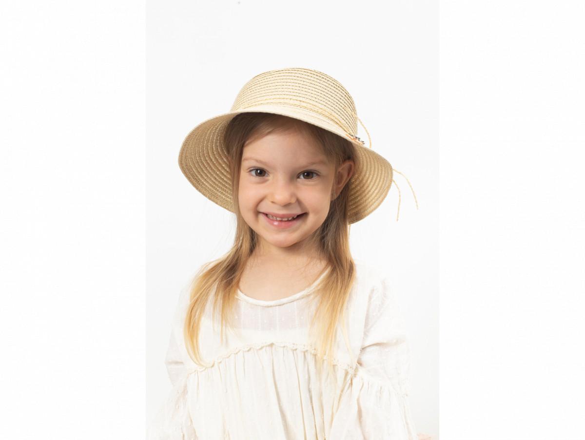 Детская шляпа Тери песочная