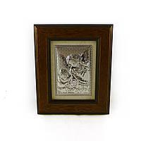 Икона Ангелочки в деревянной рамке 298