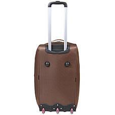 Дорожная сумка FILIPPINI малая три колеса  57х30х35  коричневая ксТ0045корм, фото 2