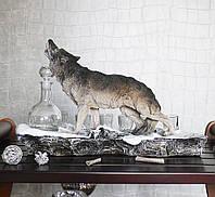 Штоф-бар волк Вожак lдля хранения алкогольных напитков