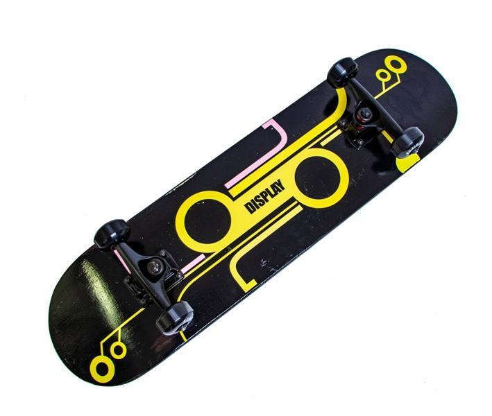 Деревянный скейт для трюков Scale Sports Display скейтборд для детей и подростков до 90 кг