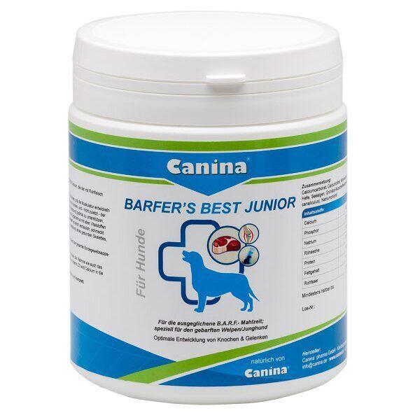 Витаминно-минеральный комплекс для щенков и молодых собак Canina «Barfers Best Junior»