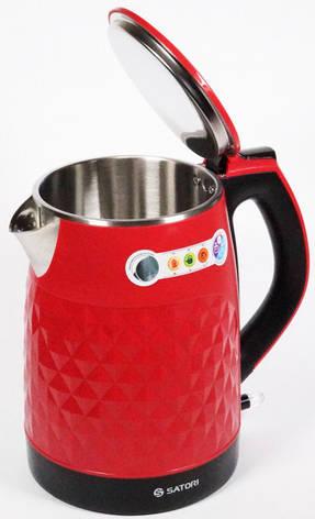 Чайник электрический Satori SSK-6131-RDW, фото 2