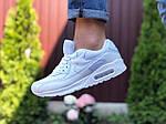 Мужские кроссовки Nike Air Max 90 (белые) 9486, фото 4