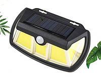 Светильник Solar Interaction wall lamp SH-28B-65 COB SMD LED сверхяркий с датчиком движения+солнечная батарея!