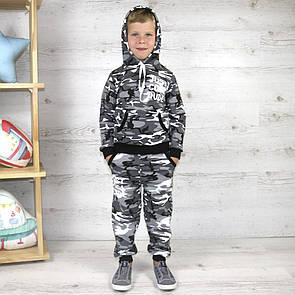 """Неймовірно стильний костюм для хлопчика у стилі мілітарі """"Cool"""""""