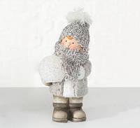 Детский светильник ночник LED Ребенок h25см керамика, новогодний декор