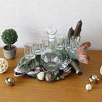 Штоф-бар сувенир «Щука» для хранения крепких напитков.