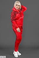 Велюровый женский костюм Размер: 48-50, 52-54, 54-56