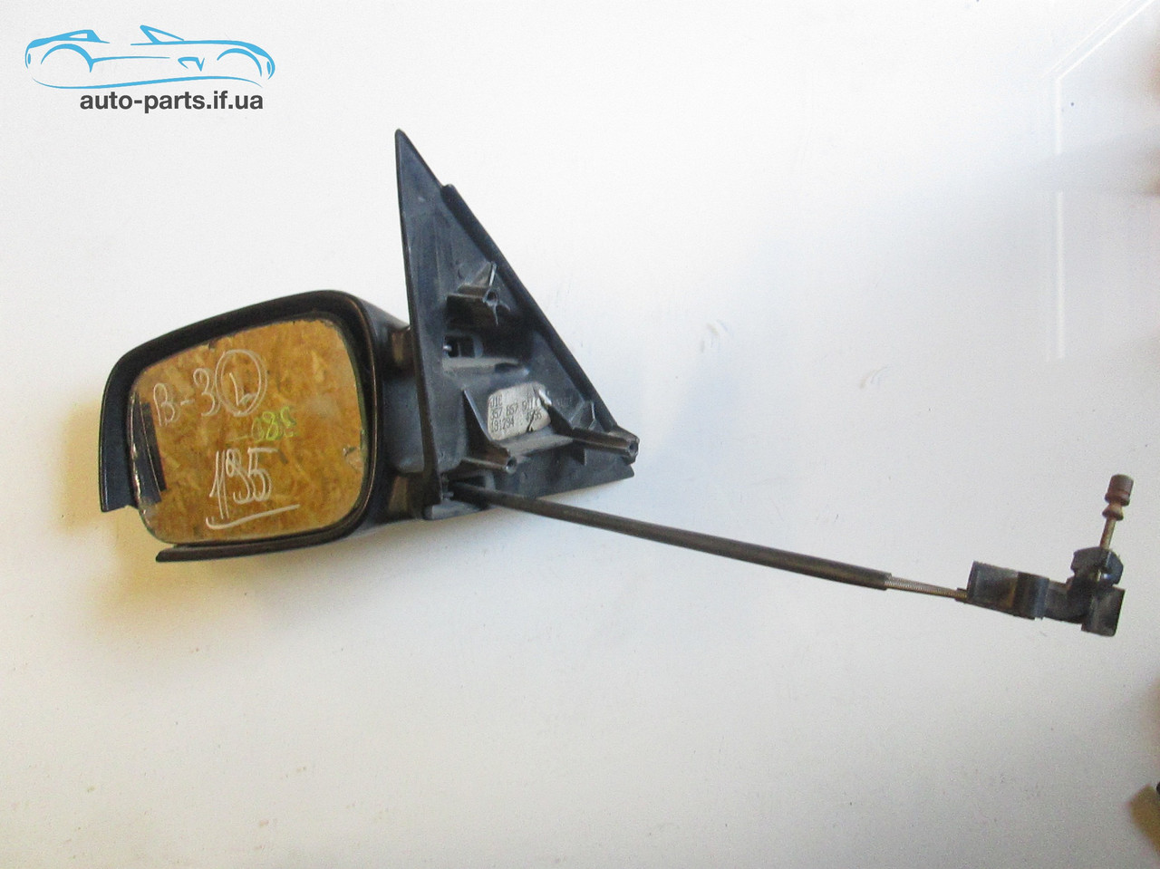 Зеркало левое Passat B3 №195