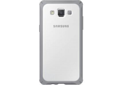 Накладка для Samsung Galaxy A700 A7 Оригінал (EF-PA700BSEGRU) Білий/Сірий