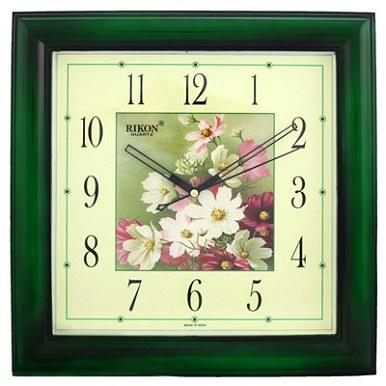 Часы настенные Rikon 9051 PIC Brown Flower-D