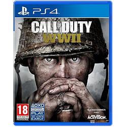 Гра Sony PS4 Call of Duty WWII російська версія